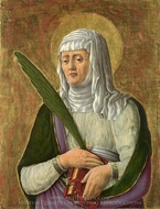 A Female Saint painting reproduction, Giorgio Schiavone