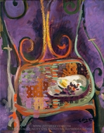 A Garden Chair painting reproduction, Georges Braque