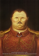A General by Fernando Botero