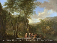 A Landscape with the Judgement of Paris by Jan Both
