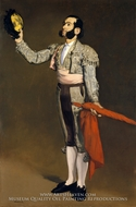 A Matador painting reproduction, Edouard Manet