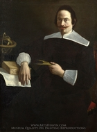 A Mathematician painting reproduction, Italian Painter