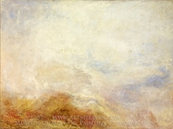 A Mountain Scene painting reproduction, Joseph Mallord William Turner