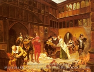 A New Regime painting reproduction, Henry Gillard Glindoni