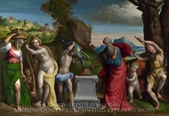 A Pagan Sacrifice painting reproduction, Garofalo