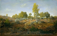 A Path among the Rocks painting reproduction, Theodore Rousseau