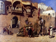 A Rajah of Jodhpur painting reproduction, Edwin Lord Weeks