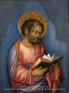 A Saint with a Book painting reproduction, Michele Giambono