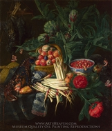 A Still Life painting reproduction, Pieter Snijers