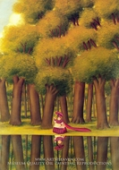 A Stroll by the Lakeside painting reproduction, Fernando Botero