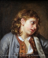 A Young Peasant Boy by Jean Baptiste Greuze