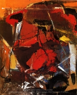 Abstract painting reproduction, Franz Kline