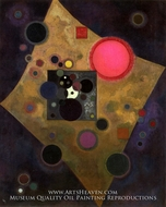 Accent in Pink by Wassily Kandinsky