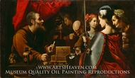 Achilles among the Daughters of Lycomedes painting reproduction, Pietro Paolini
