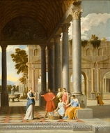 Achilles Discovered Among the Daughters of Lycomedes painting reproduction, Jean Lemaire