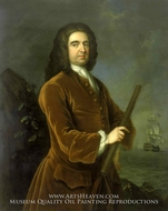 Admiral Edward Vernon painting reproduction, Charles Philips