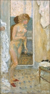 After the Bath painting reproduction, Pierre Bonnard