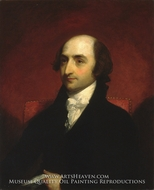 Albert Gallatin by Gilbert Stuart