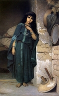 Algerian Girl painting reproduction, Charles Landelle
