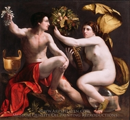 Allegory of Fortune painting reproduction, Dosso Dossi