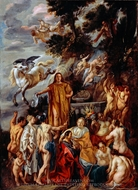 Allegory of the Poet painting reproduction, Jacob Jordaens