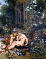 Allegory of the Sense of Smell painting reproduction, Peter Paul Rubens