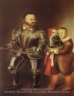 Alof of Vignancourt (after Caravaggio) by Fernando Botero