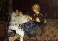 Always Welcome painting reproduction, Sir Lawrence Alma-Tadema