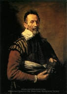 An Actor painting reproduction, Domenico Fetti