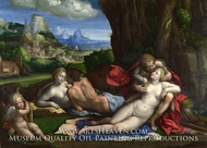 An Allegory of Love by Garofalo