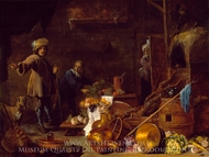 An Artist in his Studio painting reproduction, David Teniers, The Younger