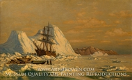 An Incident of Whaling painting reproduction, William Bradford