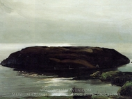 An Island in the Sea painting reproduction, George Bellows
