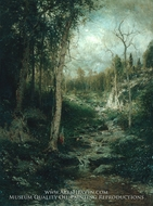 An Old Clearing by Alexander Helwig Wyant