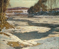 An Opalescent River painting reproduction, George Gardner Symons