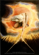 Ancient of Days painting reproduction, William Blake