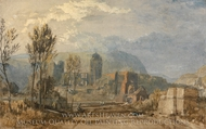 Andernach painting reproduction, Joseph Mallord William Turner