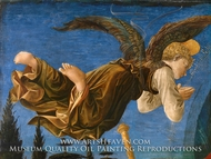 Angel (Left Hand) painting reproduction, Filippino Lippi
