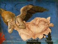 Angel (Right Hand) painting reproduction, Filippino Lippi