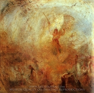 Angel Standing in a Storm painting reproduction, Joseph Mallord William Turner