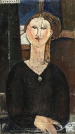 Antonia painting reproduction, Amedeo Modigliani