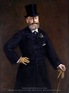 Antonin Proust painting reproduction, Edouard Manet