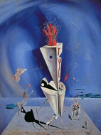 Apparatus and Hand painting reproduction, Salvador Dali (inspired by)
