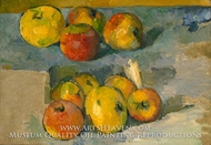 Apples painting reproduction, Paul Cezanne