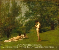 Arcadia painting reproduction, Thomas Eakins