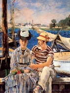 Argenteuil painting reproduction, Edouard Manet
