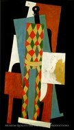 Arlequin by Pablo Picasso (inspired by)