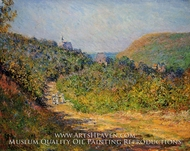 At Les Petit-Dalles by Claude Monet