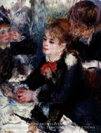 At the Milliner's by Pierre-Auguste Renoir