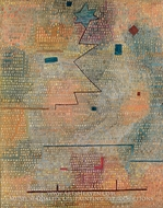 Aufgehender Stern painting reproduction, Paul Klee